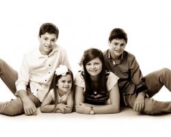 Photograph of 4 Children